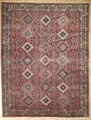 Persian Yalameh Rectangle 10x13